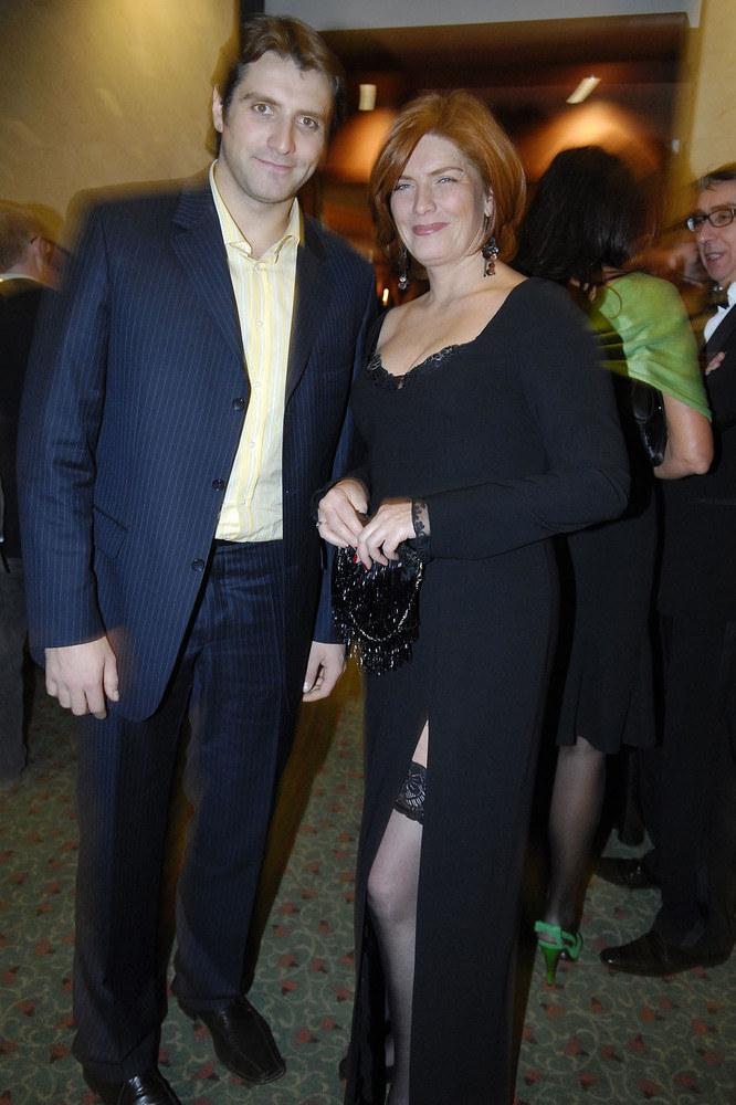 Katarzyna Dowbor z synem /Kurnikowski /AKPA