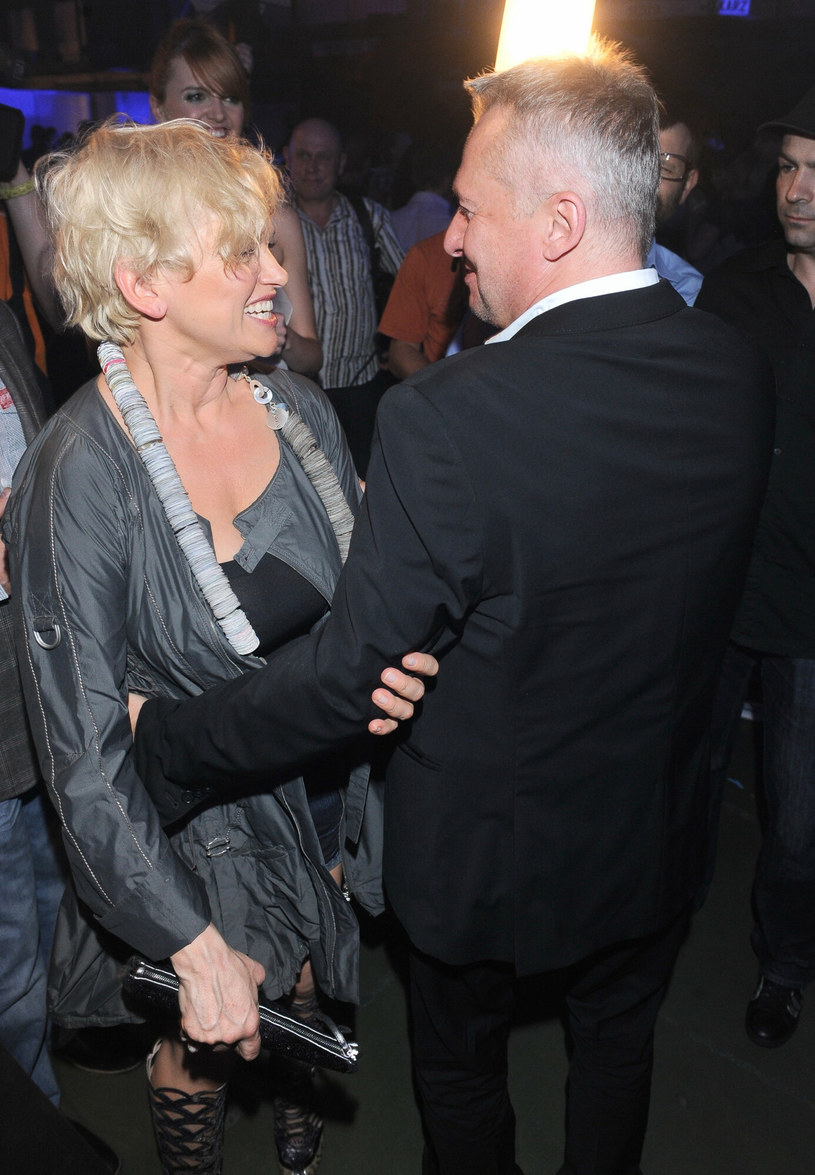 Katarzyna Figura i Bogusław Linda w 2010 roku /TRICOLORS/EAST NEWS /East News