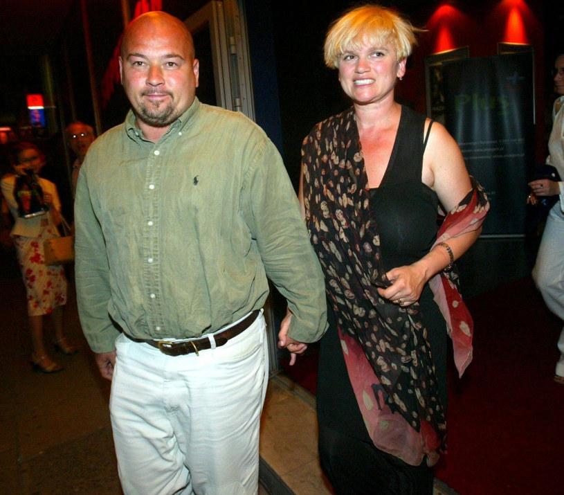 Katarzyna Figura i Kai Schoenhals na zdjęciu archiwalnym /Michał Szalast /East News