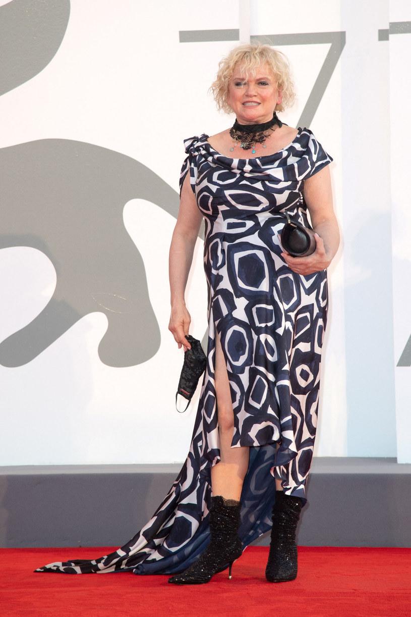 Katarzyna Figura na tegorocznym festiwalu filmowym w Wenecji /Marechal Aurore/ABACA /East News
