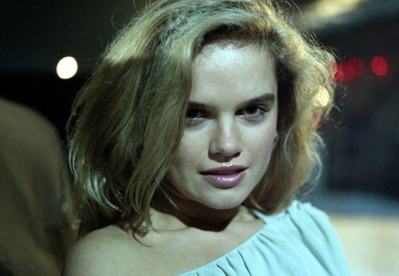 Katarzyna Figura na zdjęciu w 1985 roku /INPLUS /East News