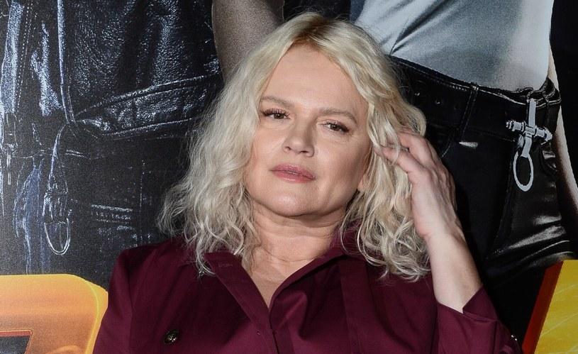 """Katarzyna Figura podczas premiery filmu """"Diablo. Wyścig o wszystko"""" /VIPHOTO /East News"""