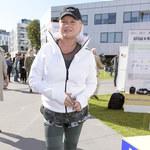 Katarzyna Figura w sportowej stylizacji na festiwalu filmowym!