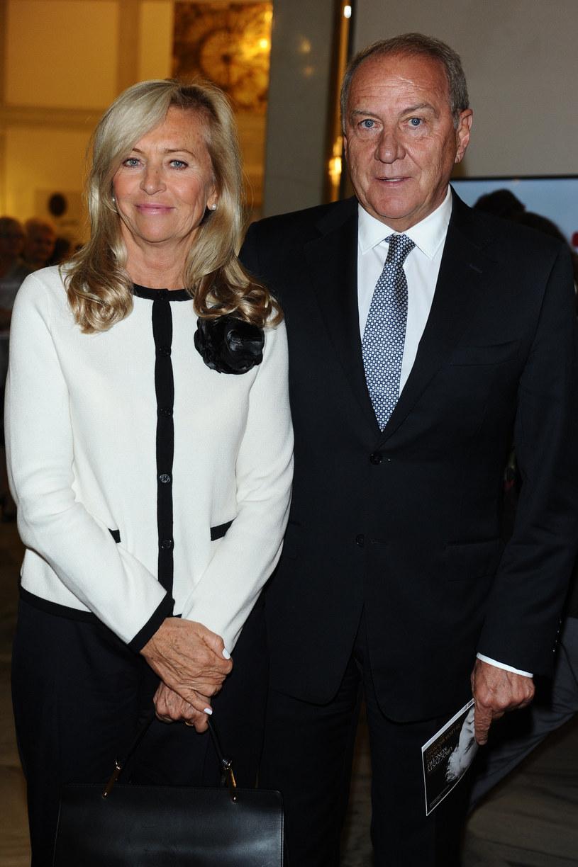 Katarzyna Frank-Niemczycka z mężem /VIPHOTO /East News