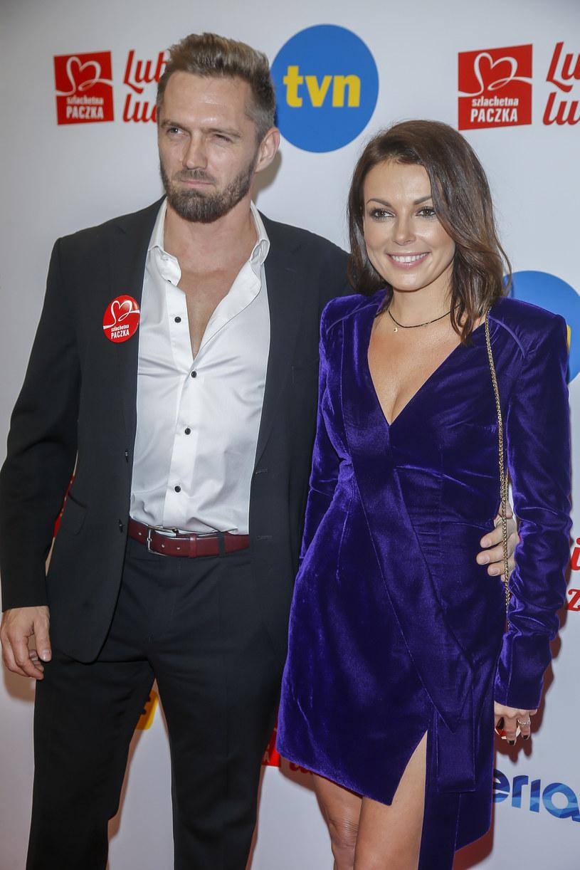 Katarzyna Glinka i Jarosław Bieniecki /Baranowski /AKPA