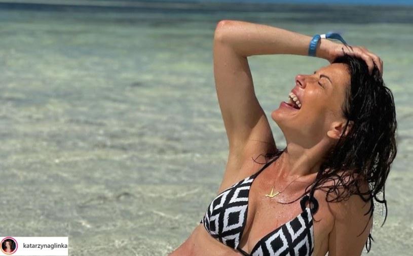 Katarzyna Glinka jest zachwycona Zanzibarem! Gwiazda przyjechała tu już trzeci raz /Instagram / @katarzynaglinka /Instagram
