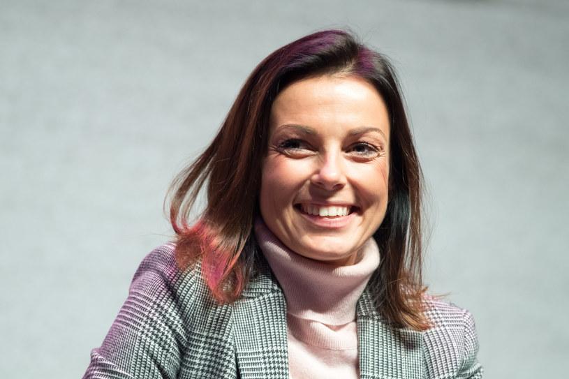 Katarzyna Glinka sama spodziewa się dziecka /Fot. Wojciech Strozyk /Reporter