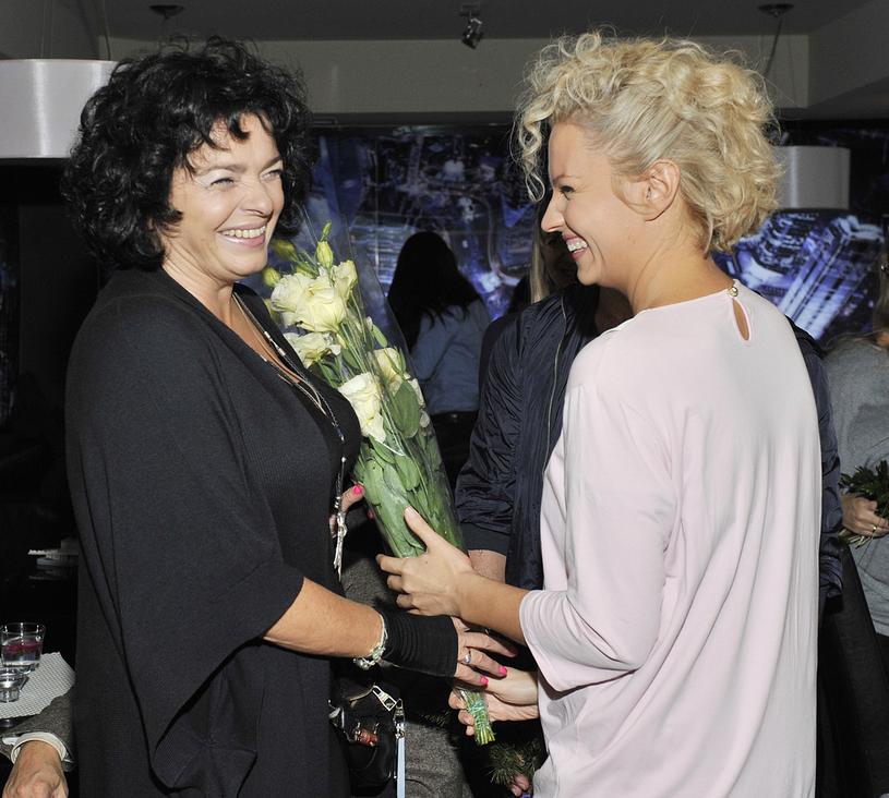 Katarzyna Grochola i Dorota Szelągowska /Niemiec /AKPA