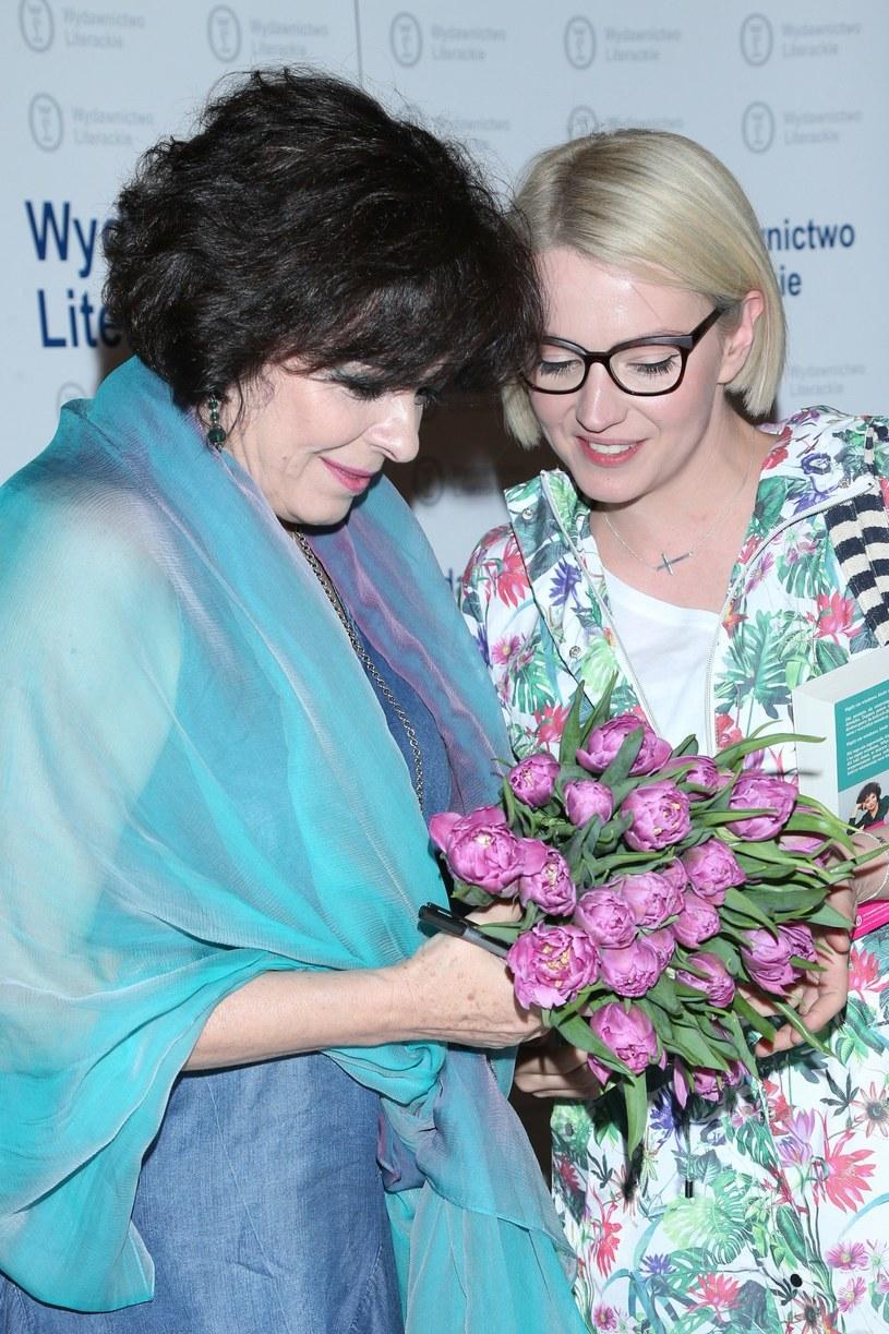 Katarzyna Grochola i Dorota Szelągowska /VIPHOTO /East News