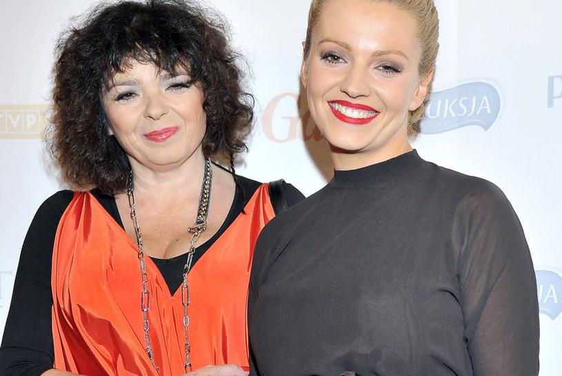 Katarzyna Grochola i Dorota Szelągowska /Kurnikowski /AKPA