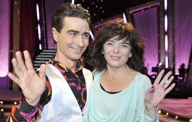 Katarzyna Grochola i Jan Kliment, fot.Jacek Kurnikowski  /AKPA