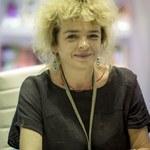Katarzyna Grochola odwiedziła kontenerowy szpital dla chorych na COVID-19
