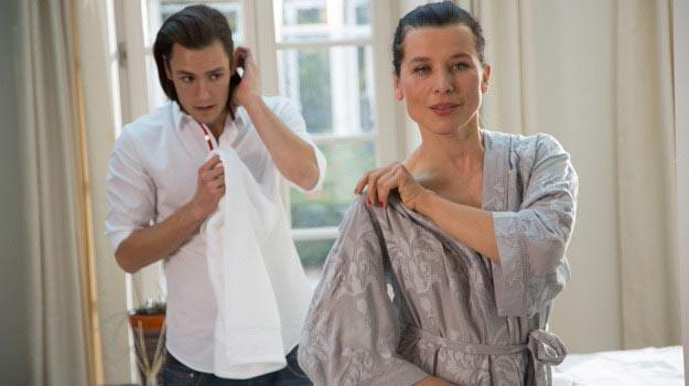 """Katarzyna Herman (i Bartosz Gelner) w serialu """"Barwy szczęścia"""" - /Agencja W. Impact"""
