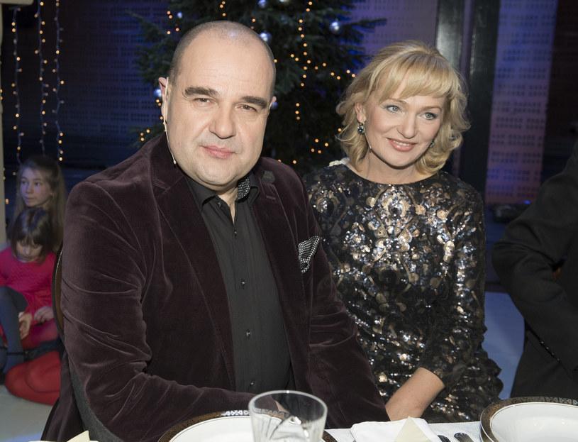 Katarzyna i Cezary Żak są małżeństwem od 35 lat /Jacek Domiński /Reporter