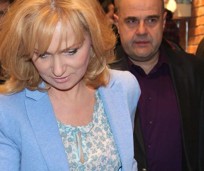 Katarzyna i Cezary Żakowie /Wrzecion /MWMedia