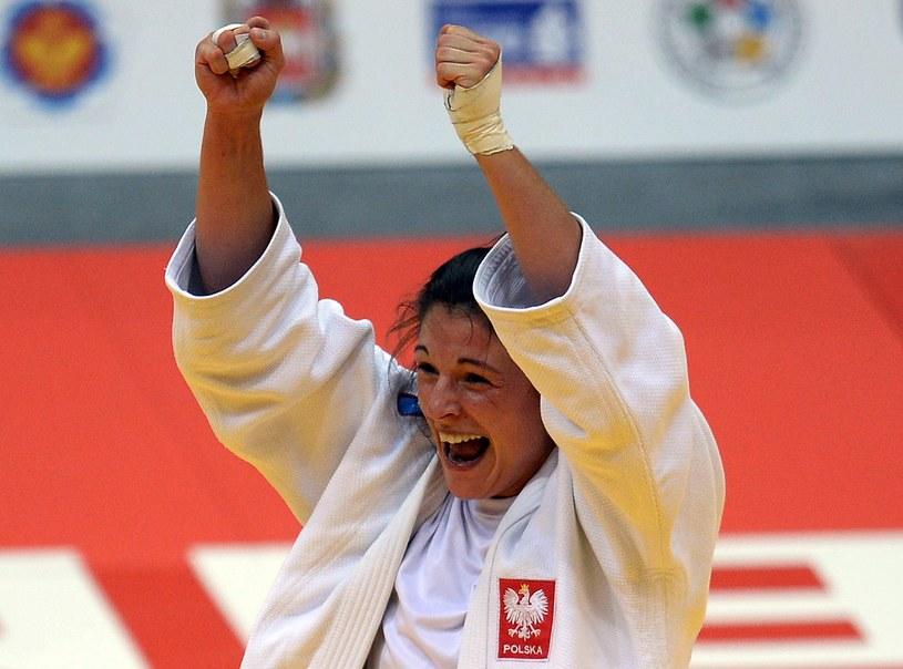 Katarzyna Kłys - brązowa medalistka mistrzostw świata /AFP