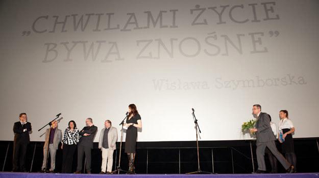 Katarzyna Kolenda-Zaleska, autorka filmu o Wisławie Szymborskiej, fot. Jarosław Antoniak /MWMedia