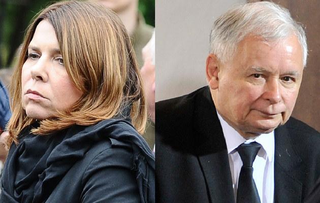 Katarzyna Kolenda-Zaleska i Jarosław Kaczyński /- /MWMedia