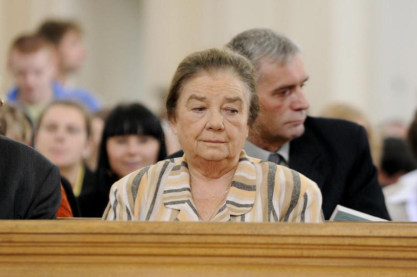 """Katarzyna Łaniewska na planie """"Plebanii"""", 2011 rok / Mieszko Piętka /AKPA"""