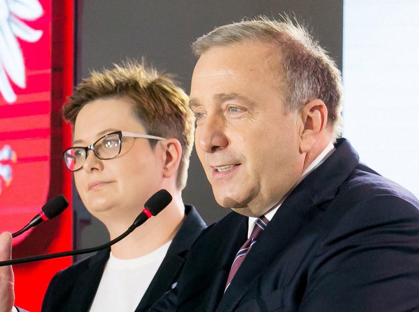 Katarzyna Lubnauer i Grzegorz Schetyna /Piotr Molecki /East News