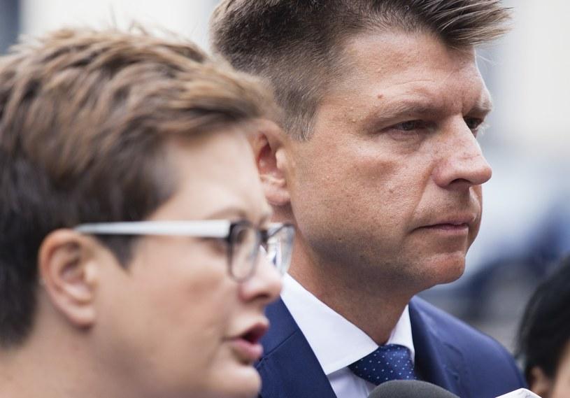 Katarzyna Lubnauer i Ryszard Petru /Krystian Dobuszyński /Reporter
