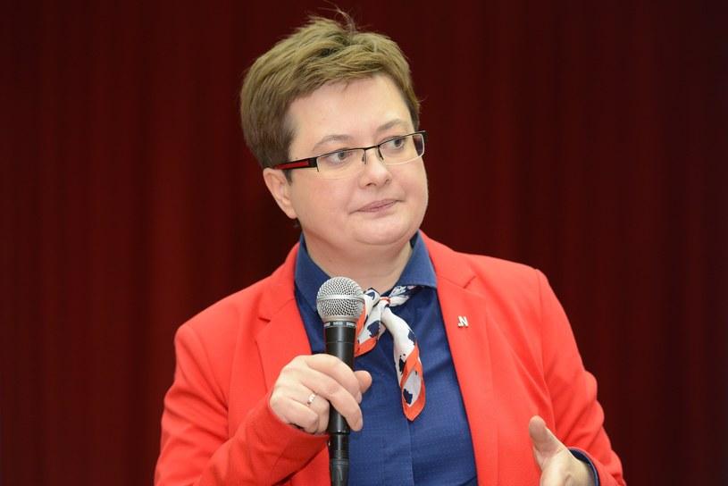 """Katarzyna Lubnauer: """"Kibicuję Schetynie, by udało mu się powstrzymać (...) prezydenta Adamowicza"""" /Adam Staśkiewicz /East News"""