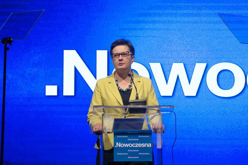 Katarzyna Lubnauer podczas Konwecji Krajowej Nowoczesnej /Leszek Szymański /PAP