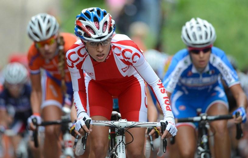 Katarzyna Niewiadoma wygrała wyścig w Luksemburgu /AFP