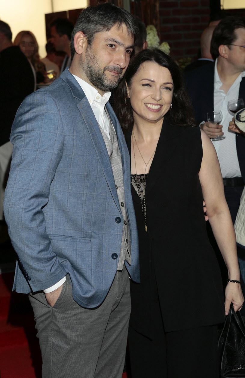 Katarzyna Pakosińska z mężem /Adam Jankowski /Reporter