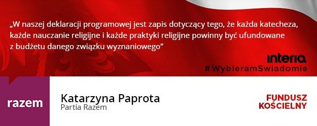 Katarzyna Paprota /INTERIA.PL