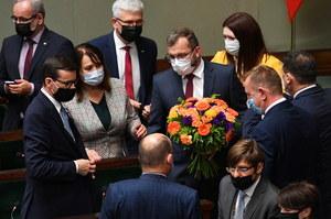 Katarzyna Piekarska przeprasza za pomyłkę w głosowaniu nad wotum nieufności