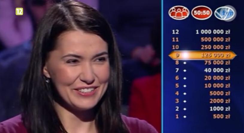 Katarzyna Romanek wygrała już 125 tys. zł /TVN