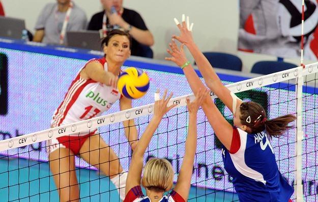Katarzyna Skowrońska-Dolata w ataku/fot. Dino Panato /Getty Images