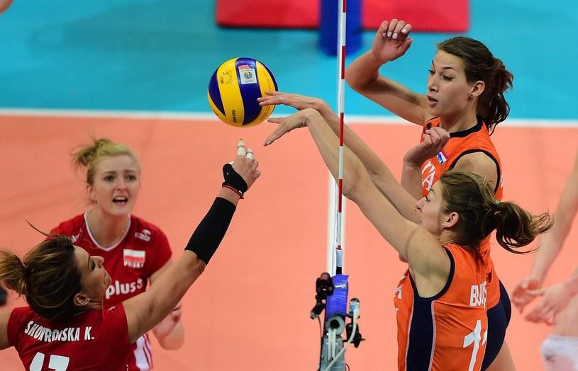 Katarzyna Skowrońska-Dolata (z lewej) oraz Kamila Ganszczyk /AFP