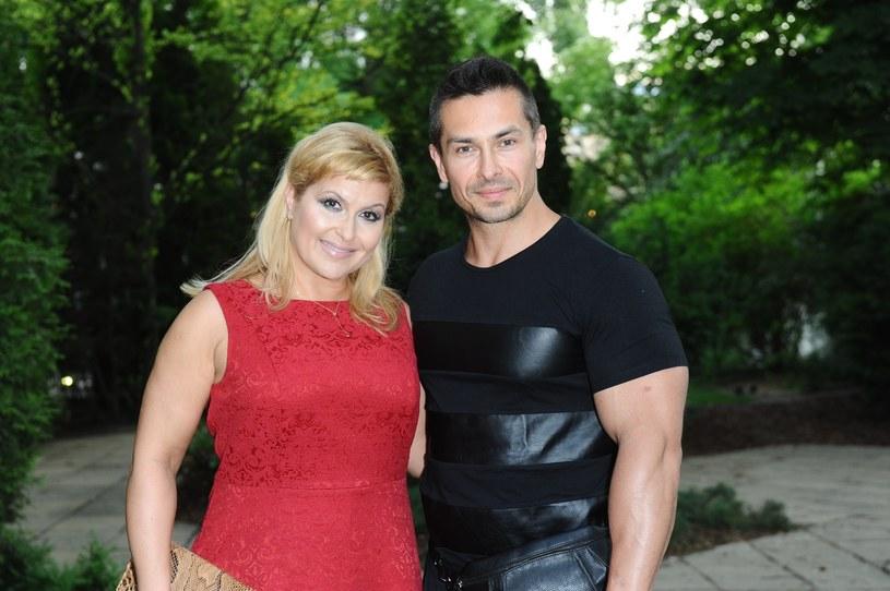Katarzyna Skrzynecka i Marcin Łopucki /Piotr Andrzejczak /MWMedia