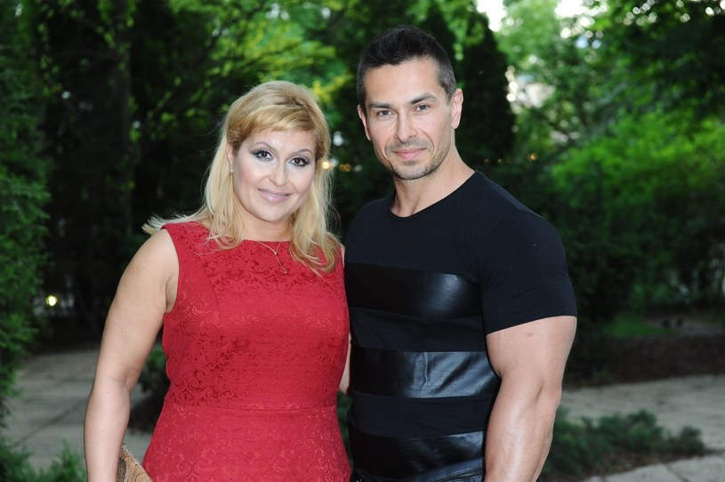 Katarzyna Skrzynecka, Marcin Łopucki, fot. VIPHOTO /East News