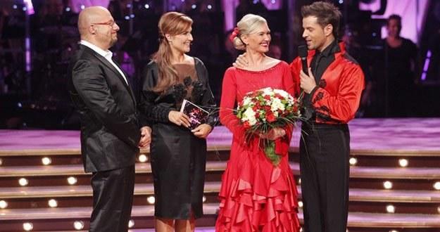 Katarzyna Skrzynecka, Piotr Gąsowski, Anna Kalata i Krzysztof Hulboj /AKPA