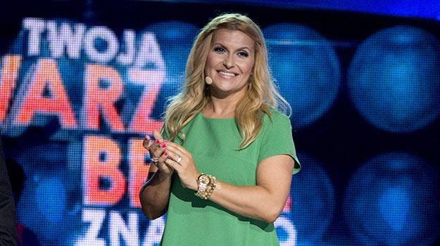 """Katarzyna Skrzynecka wie, co to znaczy być uczestnikiem """"TTBZ"""". /Polsat"""