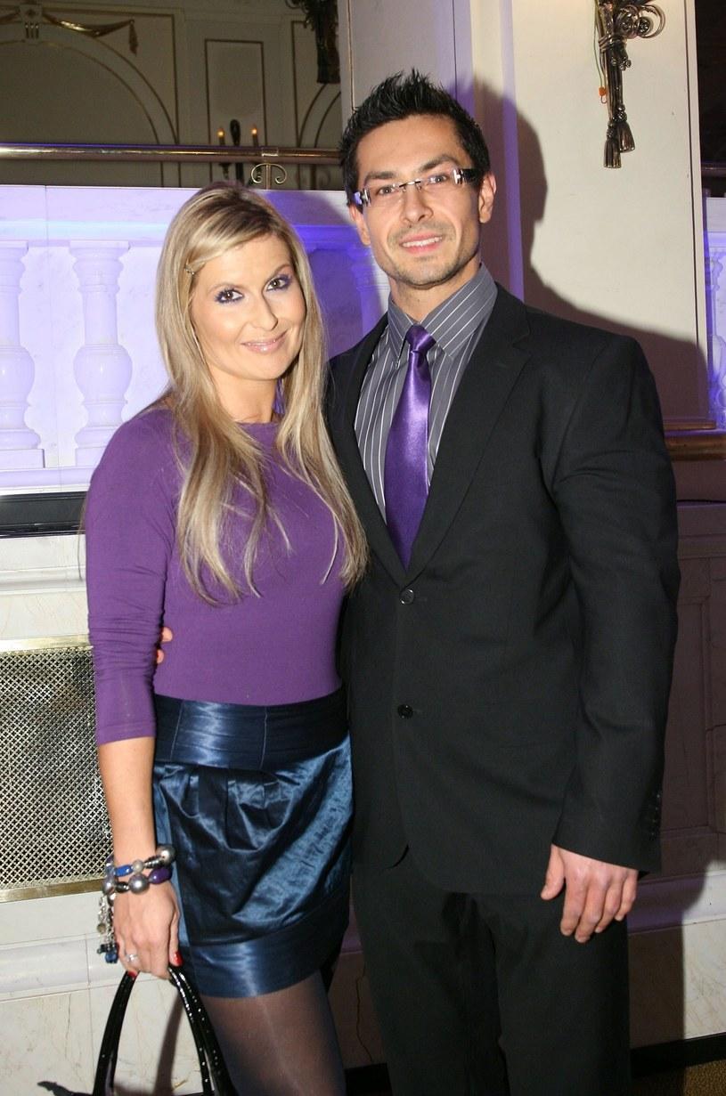 Katarzyna Skrzynecka z mężem Marcinem Łopuckim, fot Sylwia Teresa REPORTER /East News