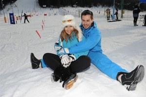 Katarzyna Skrzynecka z mężem Marcinem Łopuckim /    /Agencja W. Impact