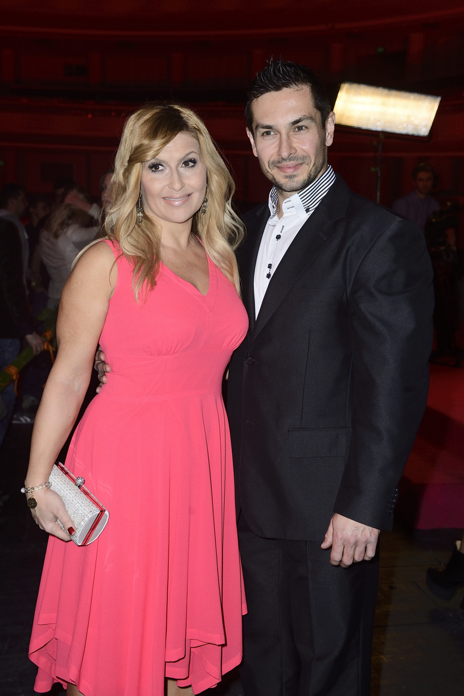 Katarzyna Skrzynecka z mężem /VIPHOTO /East News