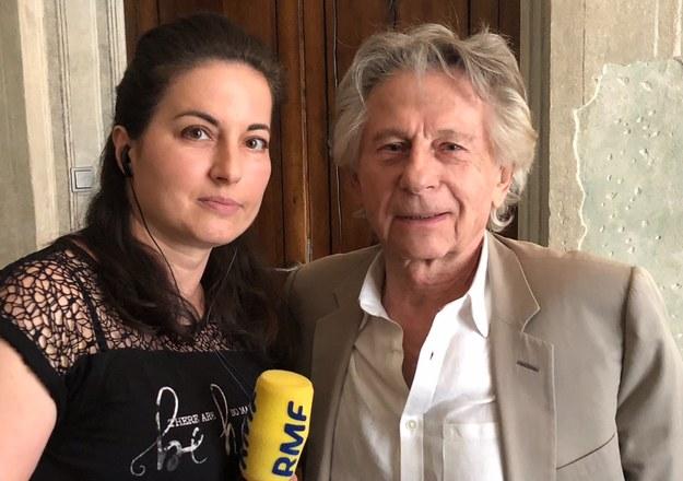 Katarzyna Sobiechowska-Szuchta i Roman Polański podczas spotkania w Krakowie /RMF FM /