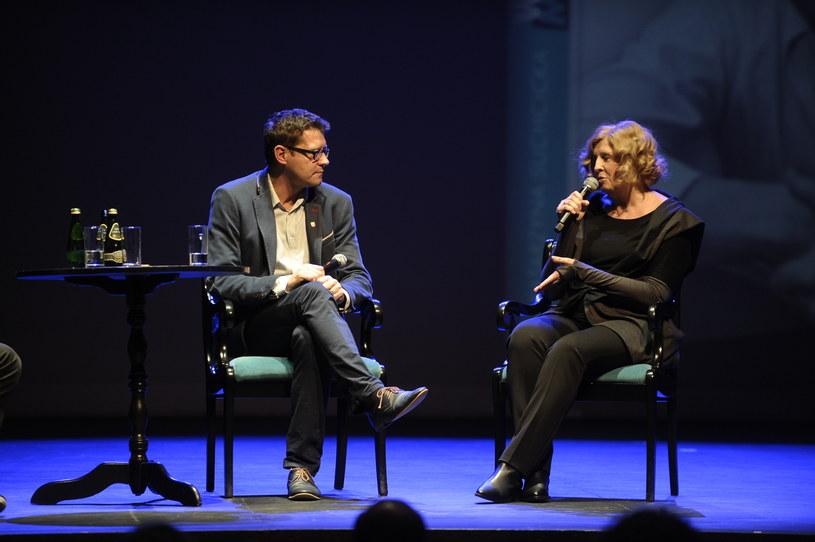 Katarzyna Suchcicka i Wojciech Malajkat /Euzebiusz Niemiec /AKPA