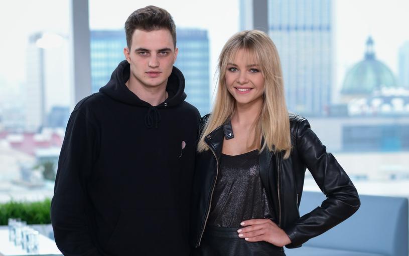 Katarzyna Szklarczyk i Patryk Grudowicz są parą /Wojtek Olszanka/DDTVN /East News