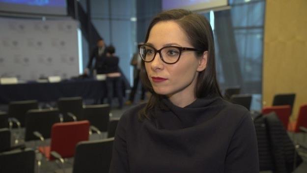 Katarzyna Szymielewicz, prezeska Fundacji Panoptykon /Newseria Biznes