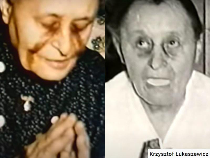 Katarzyna Szymon do dziś pozostaje jedną z najsłynniejszych polskich wizjonerek i stygmatyczek /Krzysztof Łukaszewicz /YouTube
