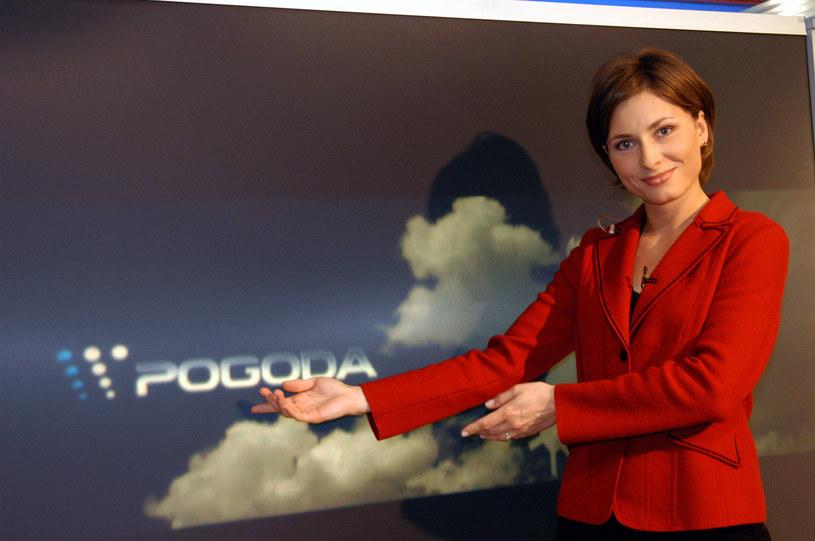 Katarzyna Trzaskalska zaczynała karierę w TVP jako prezenterka pogody /AKPA