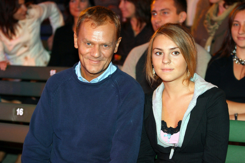 Katarzyna Tusk i Donald Tusk /Palicki /AKPA