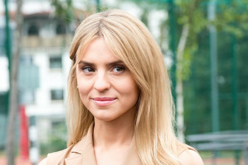 Katarzyna Tusk podczas drugiej tury tegorocznych wyborów prezydenckich /Wojciech Strozyk/ /Reporter