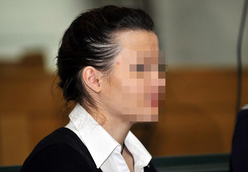 Katarzyna W. na sali sądowej /Piotr Kamionka /Reporter
